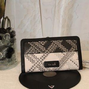 NWT The Sak Iris Slim Leather Wallet